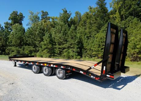 Kraftsman Trailers 60K 25 Ton Paver Special Equipment Trailer