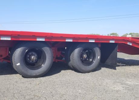 Kraftsman Trailers 24K Dual Wheel Gooseneck Flatbed