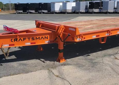Kraftsman Trailers 55K 22.5 Ton Super Duty Paver Special Equipment Trailer