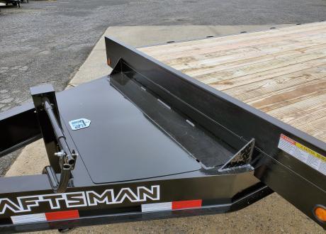Kraftsman FS-18 18K Single Wheel Deckover Flatbed