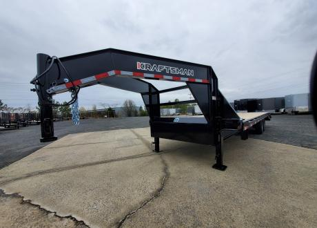 Kraftsman Trailers 18K Single Wheel Gooseneck Flatbed