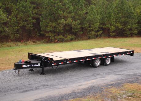 Kraftsman Trailers 50K Partial Tilt Heavy Equipment Trailer