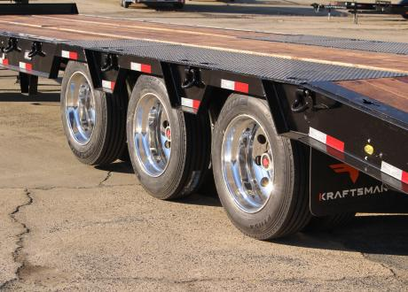 "Kraftsman Trailers 75K 30 Ton ""THE BEAST"" Super Duty Paver Special w/ Lift Axle"