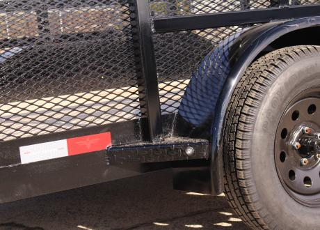 Kraftsman L3-7X-HS Tandem Axle Utility Trailer