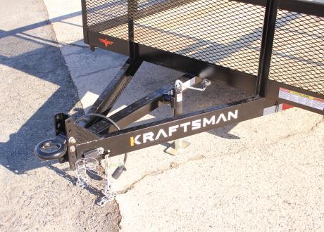 Kraftsman Trailers 10K Elite High Side Tandem Utility Trailer