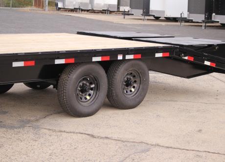 Kraftsman 17K Single Wheel Gooseneck Flatbed