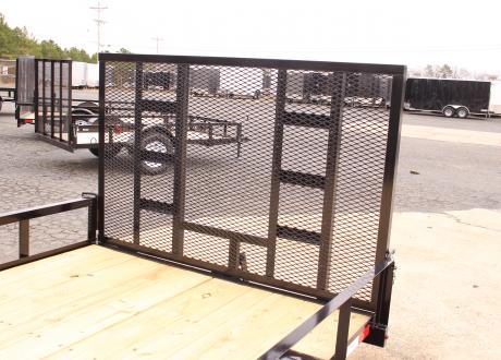 Kraftsman Trailers 6' Wide Single Axle Utility Trailer
