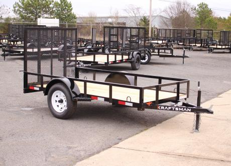 Kraftsman Trailers 5' Wide Single Axle Utility Trailer