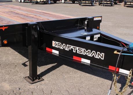 Kraftsman Trailers 73K 30 Ton Paver Special Equipment Trailer w/ Lift Axle