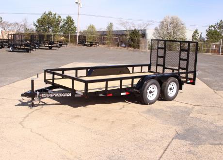 Kraftsman L3-6S 6' Wide Tandem Axle Utility Trailer