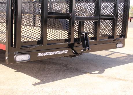 Kraftsman LX-7 HS Single Axle Utility Trailer