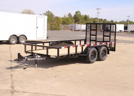 Kraftsman Trailers - 7' Wide Elite Tandem Axle Utility Trailer