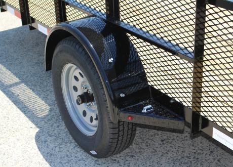 Kraftsman Trailers - 6' Wide High Side Single Axle Utility Trailer