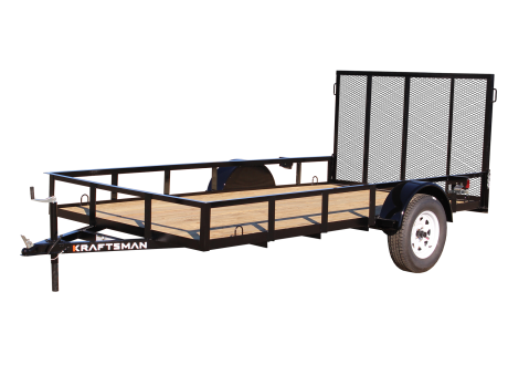 Kraftsman LE-6 10' Single Axle Utility Trailer