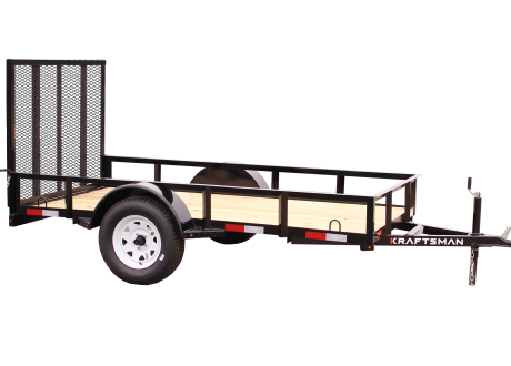 Kraftsman Trailers 5' Wide Single Axle Utility Trailer