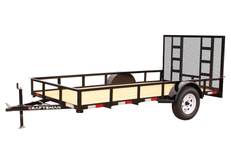 Kraftsman Trailers 6' Wide Single Axle Utility Trailer