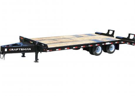 Kraftsman Trailers 50K 20 Ton Pintle Heavy Equipment Trailer