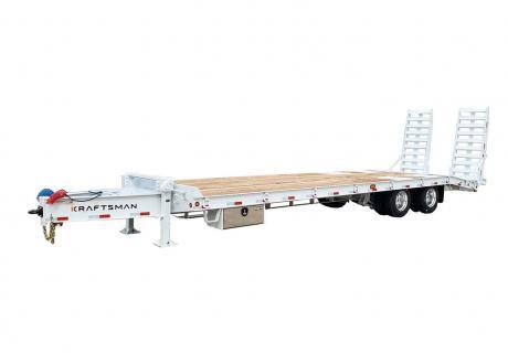 Kraftsman Trailers 55K 22.5 Ton Pintle Heavy Equipment Trailer