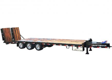 Kraftsman Trailers 73K 30 Ton Super Duty Paver Special Equipment Trailer w/ Lift Axle