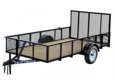 Kraftsman LE-6-HS High Side Single Axle Utility Trailer