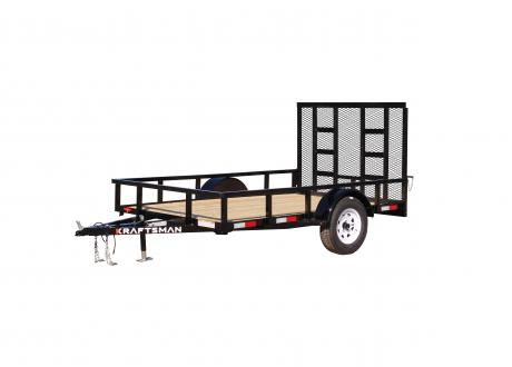 LX-6 - Elite Single Axle Utility Trailer