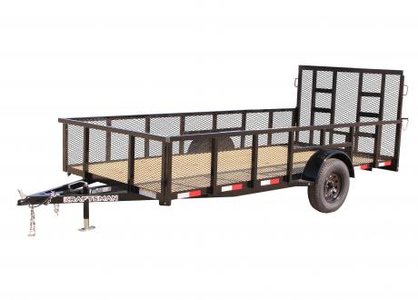 Kraftsman LX-7 HS Single Axle Utility Trailer