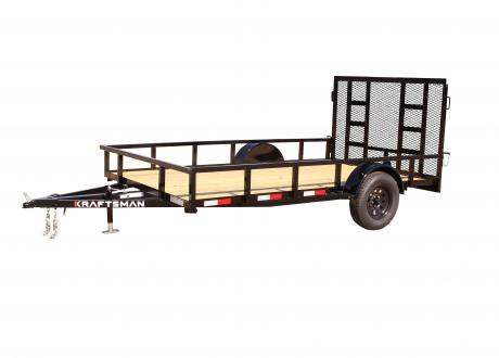 LX-7 - Elite Single Axle Utility Trailer