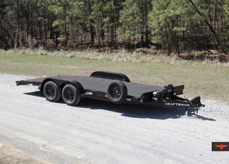 Kraftsman Trailers 7X Elite All Steel Single Car Hauler