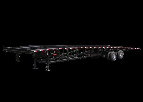Wedge Car Hauler With Duals Kraftsman Trailers