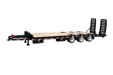 Kraftsman Trailers 73K 30 Ton Pintle Heavy Equipment Trailer w/ Lift Axle