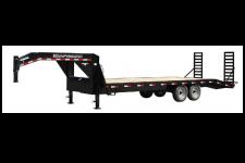 Kraftsman Trailers 14K Single Wheel Economy Gooseneck Flatbed