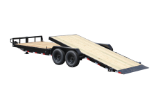 Kraftsman 15K Partial Tilt Fender Equipment Trailer